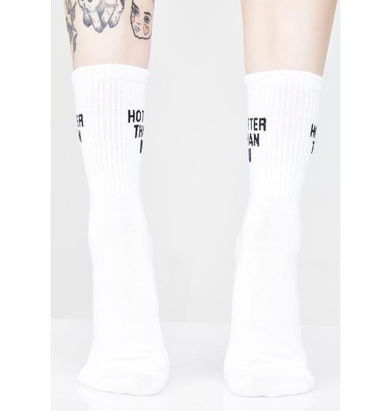 Hotter Than U Crew Socks