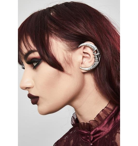 Alchemy England Moonskull Ear Wrap