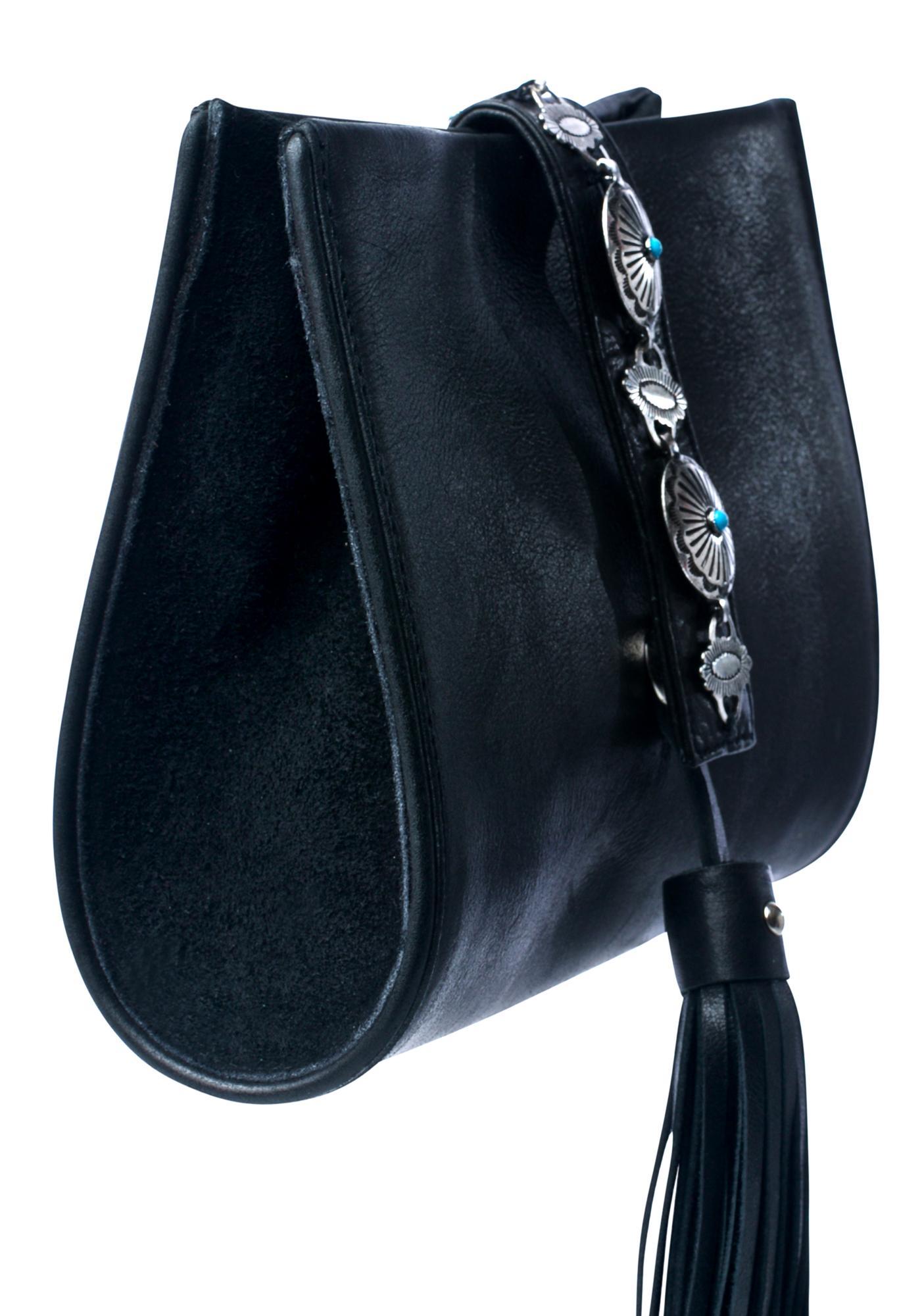 Vanessa Mooney X Sancia Concho Crossbody Bag