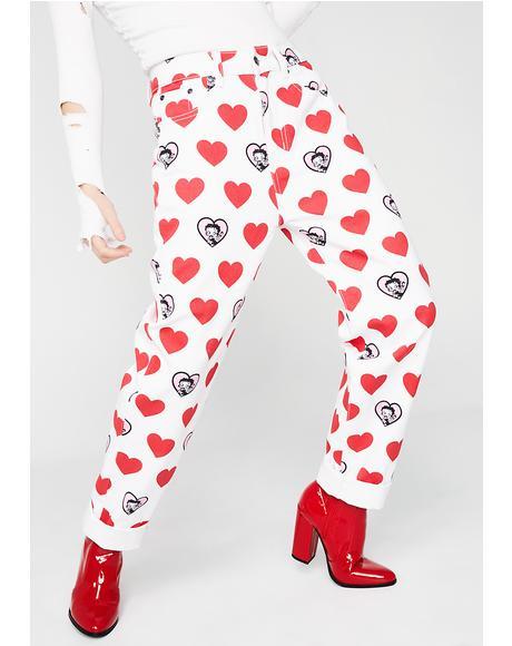 Betty Boop Heart Jeans