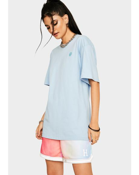 Light Blue HUF Erotica Graphic Tee