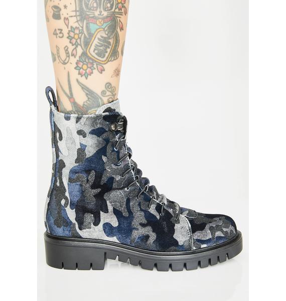 Wild Gotham Sirens Combat Boots