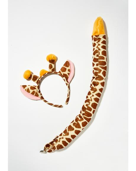 Ari Safari Giraffe Costume Set