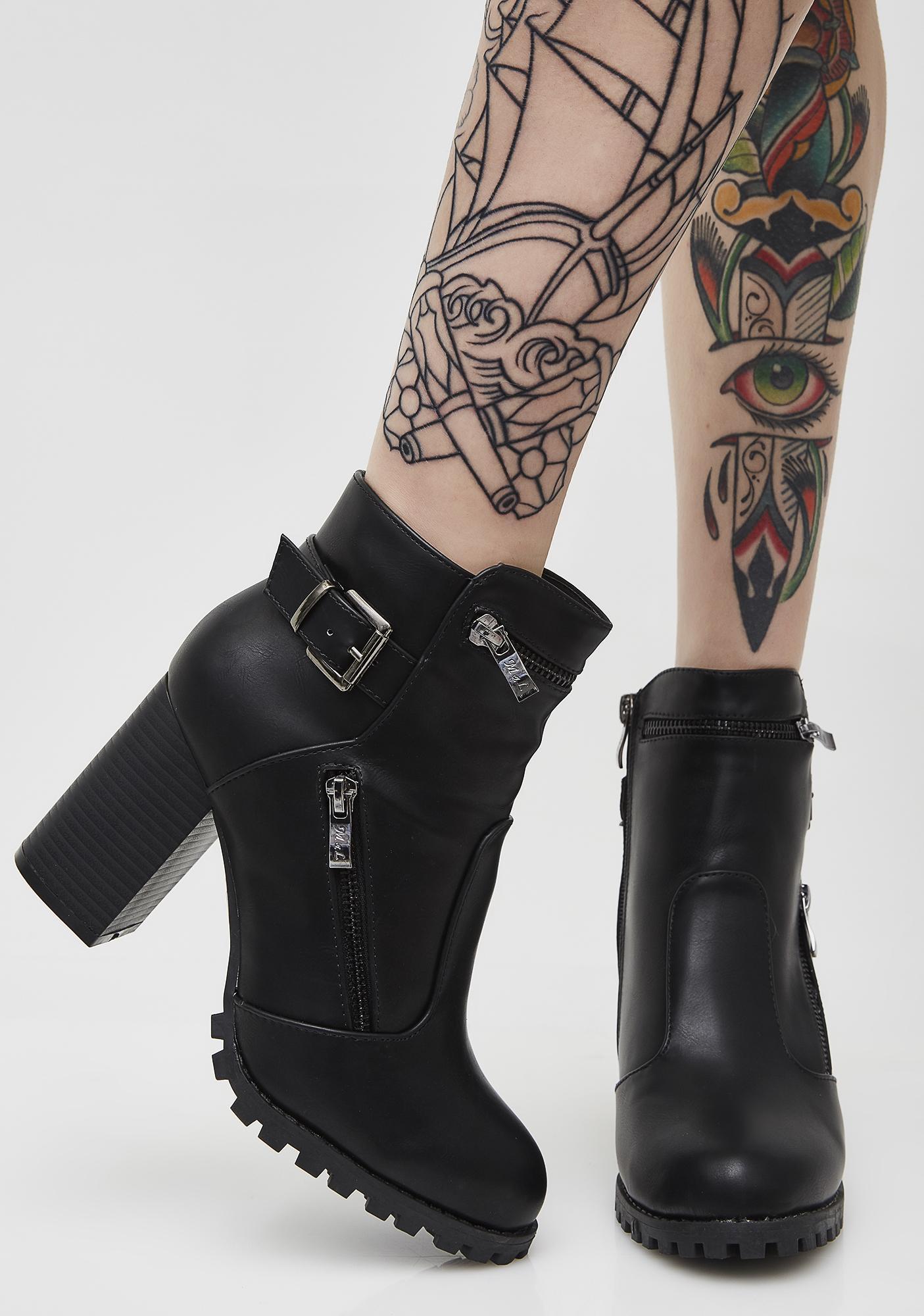 Wild Rider Moto Boots