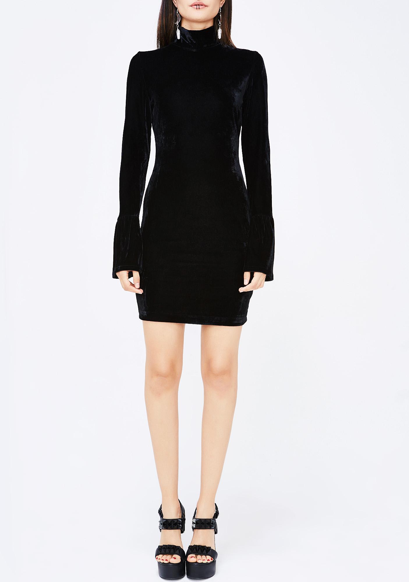 Little Thang Velvet Dress