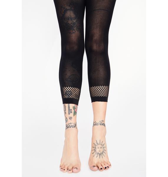 Killstar Krista Capri Leggings