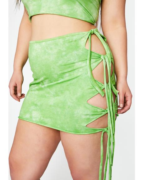 Wild Cosmix Coast Tie Dye Skirt