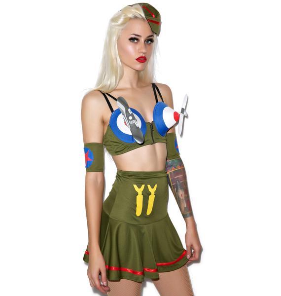 Bomber Babe Costume