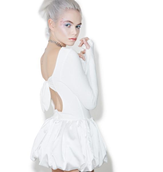 Fete Blanc Love Angeles Playsuit