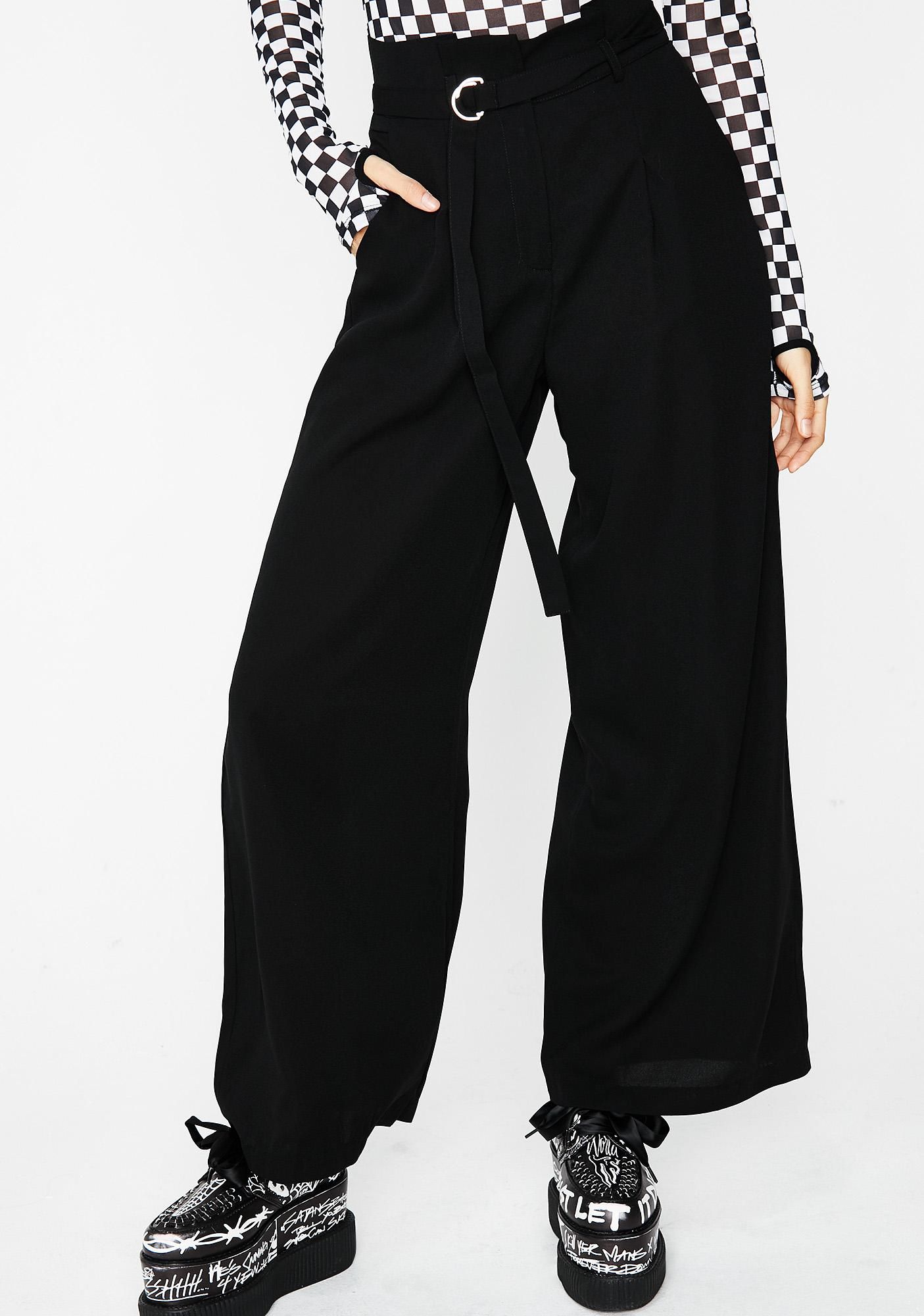 ONYX GET MOVIN' BELTED PANTS
