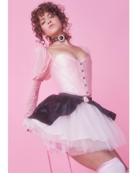 Stroke Of Midnight Tulle Skirt