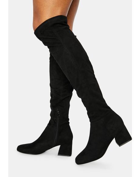Diggy Knee High Boots