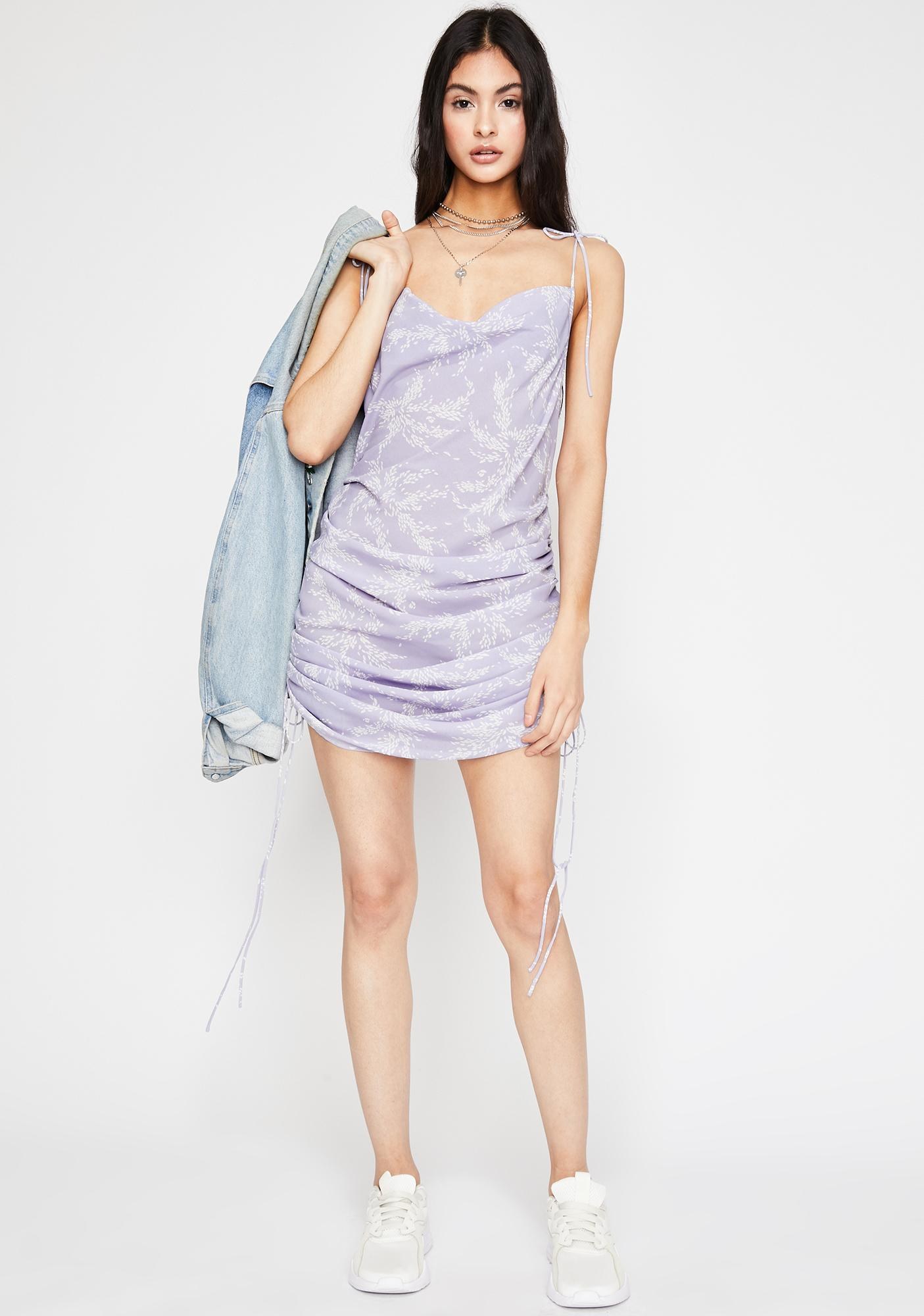 Orchid Oh She Bad Slip Dress