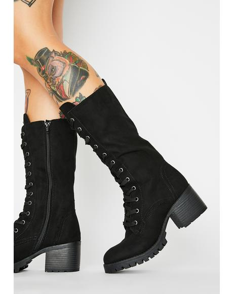 Head Chief Lace Up Boots