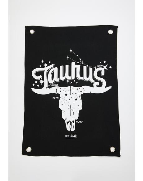Taurus Mini Tapestry