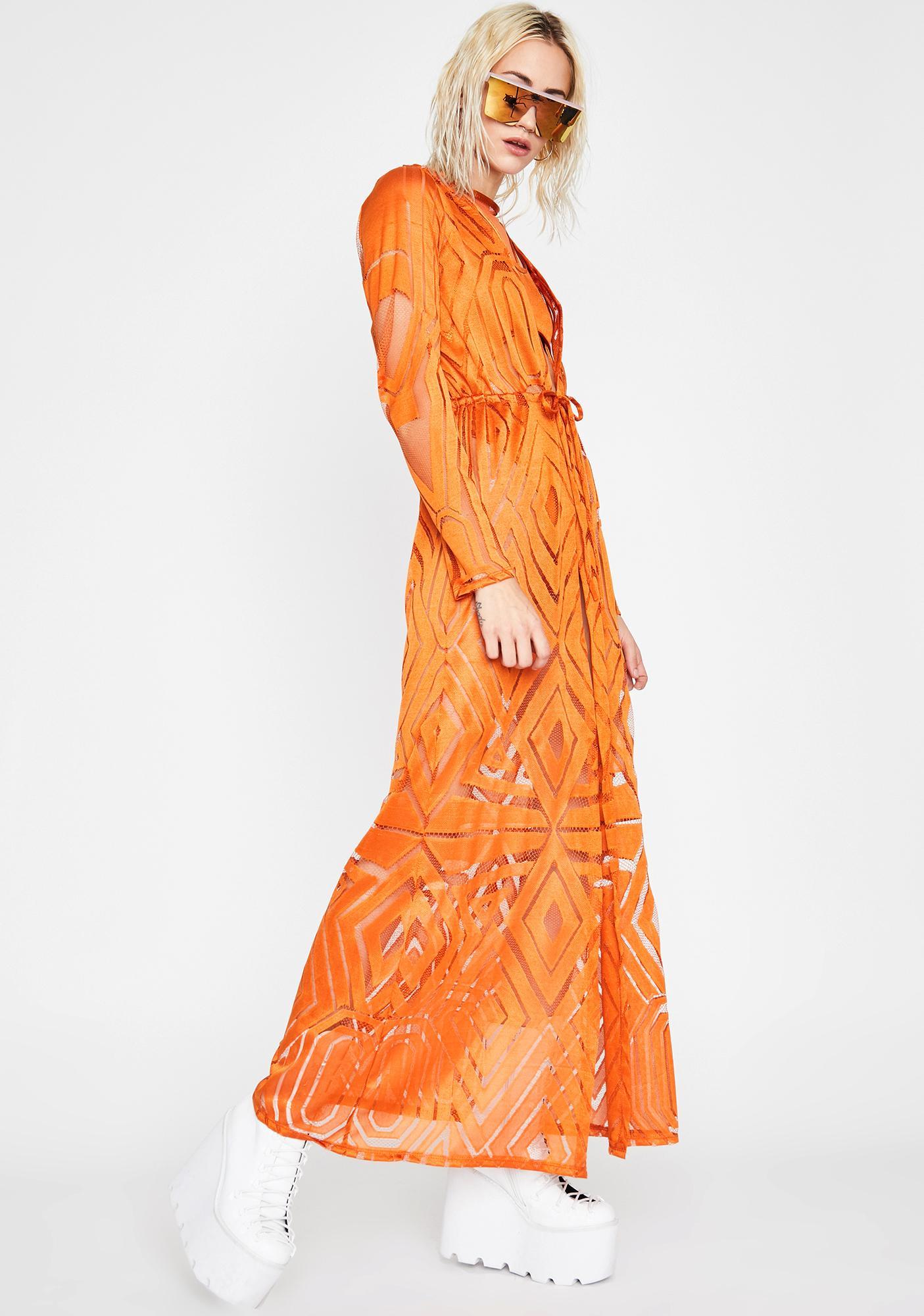 Phoenix Empire Sheer Robe