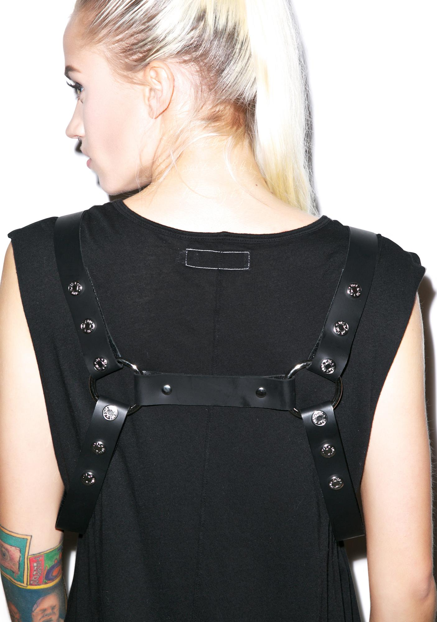 Club Exx Cuffing Season Handcuff Harness