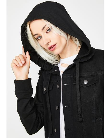 Not A Phaze Hooded Jacket