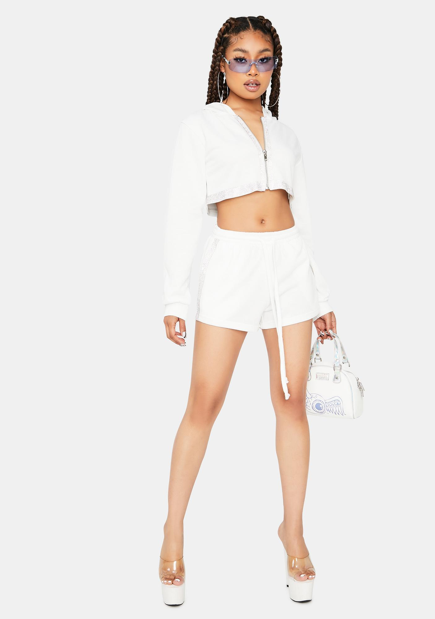 Pure Country Club Chic Cropped Shorts Set
