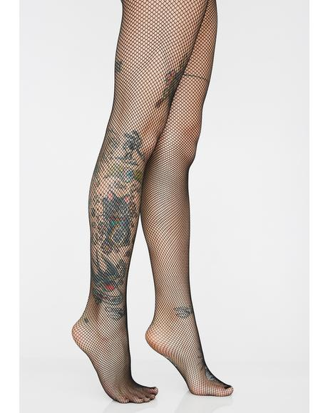 Tough Cookie Fishnet Tights