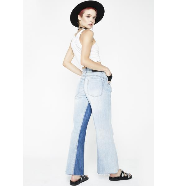 One Teaspoon Beach Club Libertines High Waist Jeans