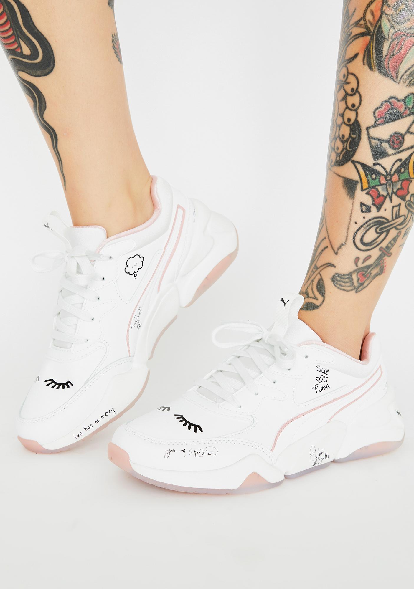 PUMA X Sue Tsai Nova Sneakers