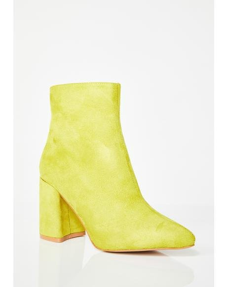 Alpha Pointed Ankle Boots