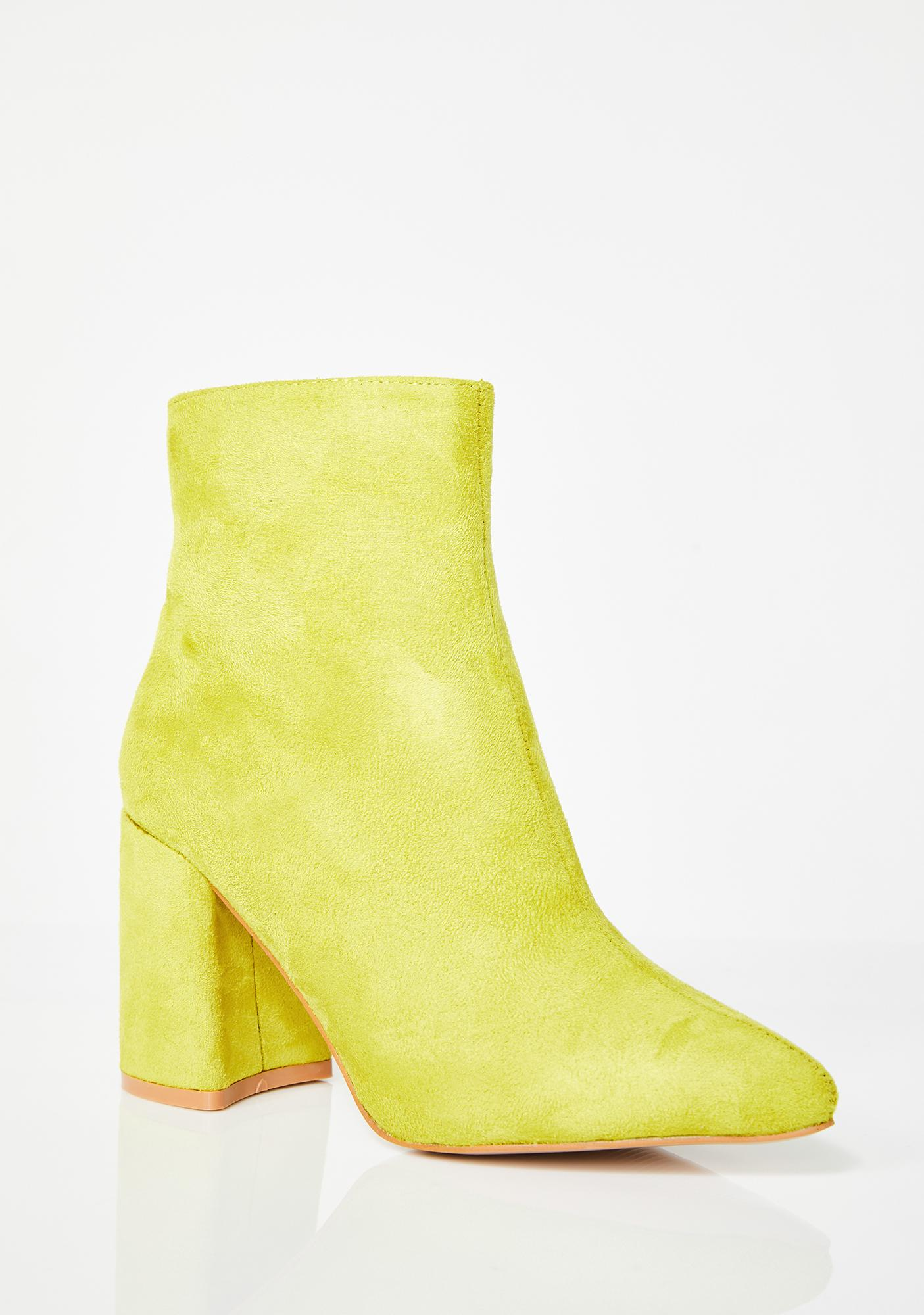 Public Desire Alpha Pointed Ankle Boots