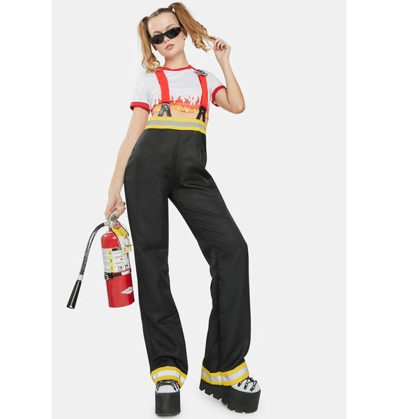 Five-Alarm Firefighter Costume Set