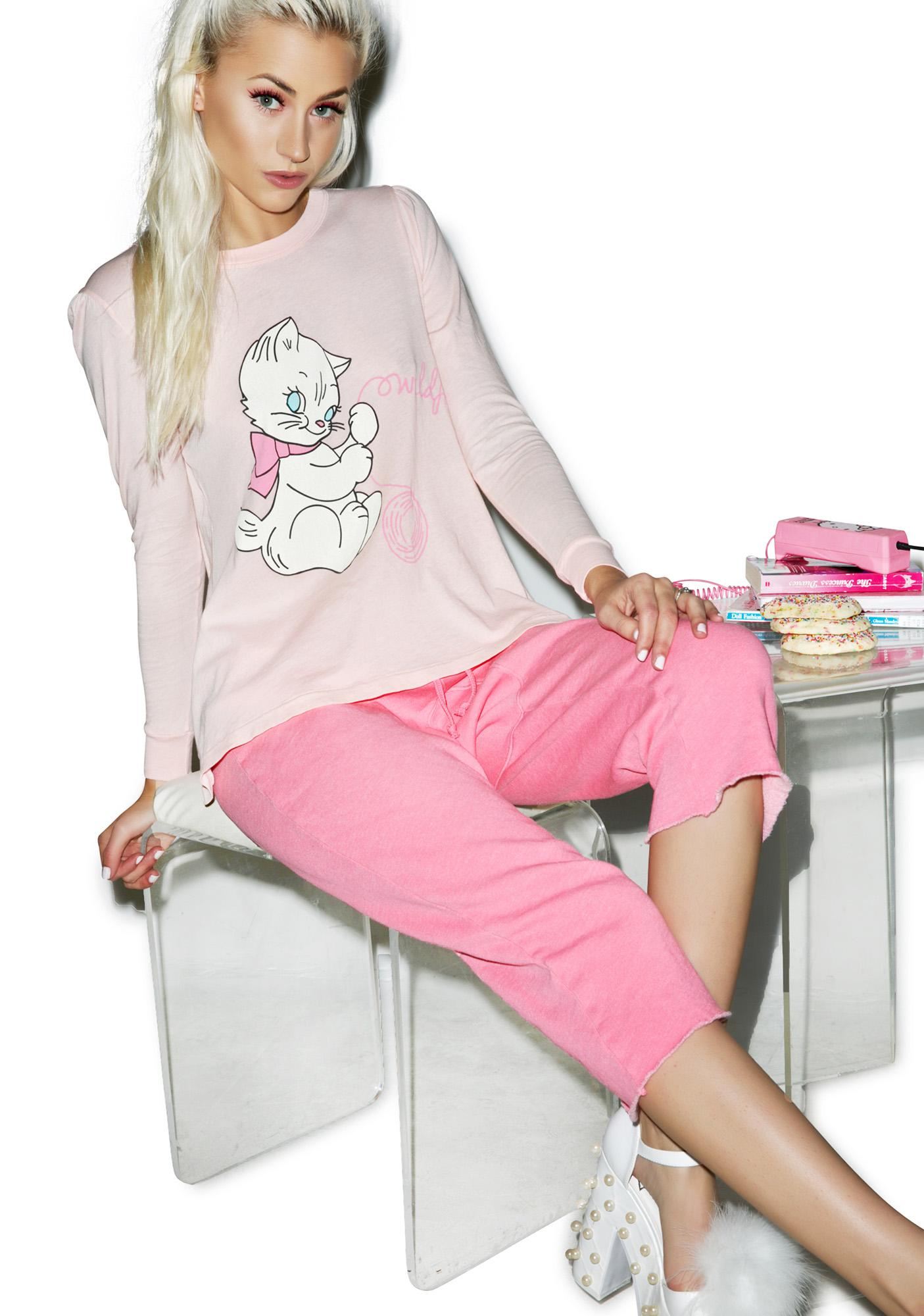 Wildfox couture playful kitty princess tee dolls kill - Princesse kitty ...