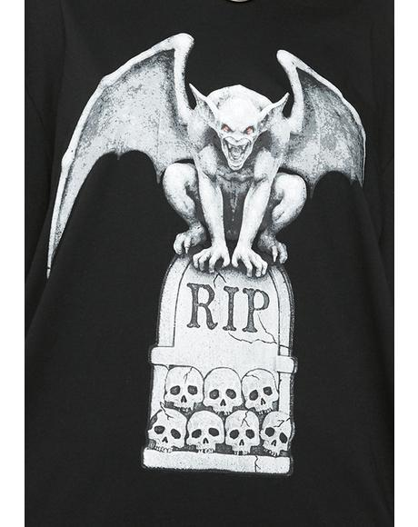 Rest In Pieces Graphic Tee