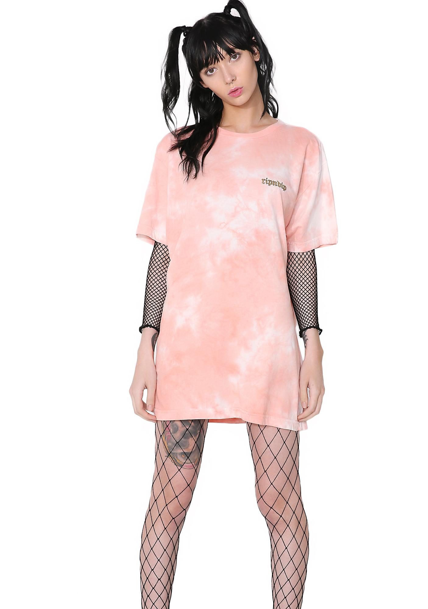 RIPNDIP Acid Wash All Hail Tee