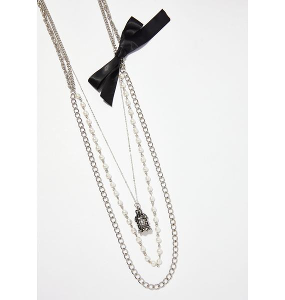 Broken Promises Layered Necklace