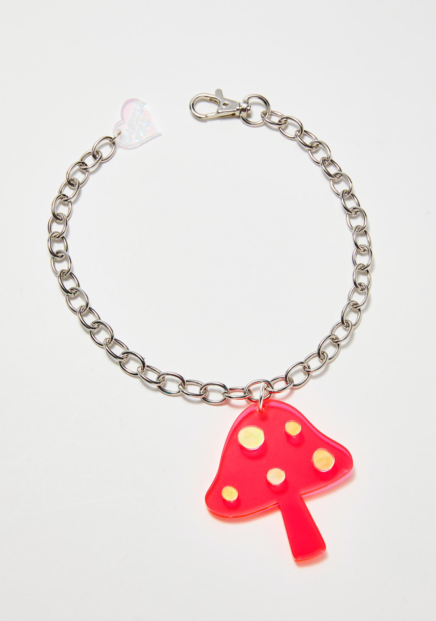 Marina Fini Mushroom Chain Necklace
