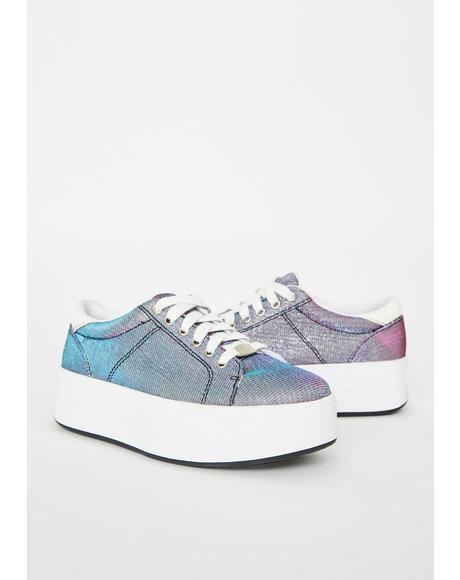 Dragonfly Wingz Platform Sneakers