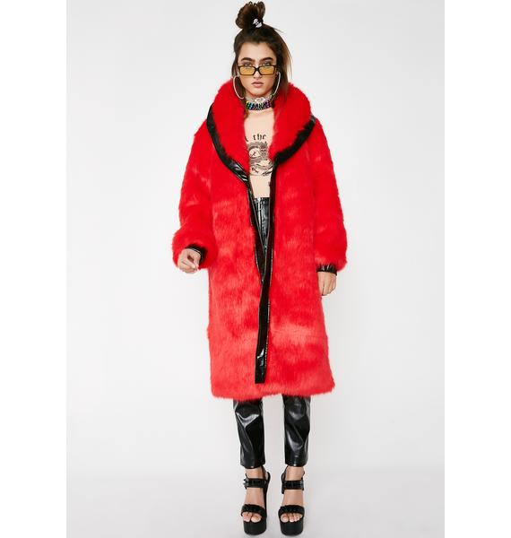 I AM GIA Bellatrix Fur Coat