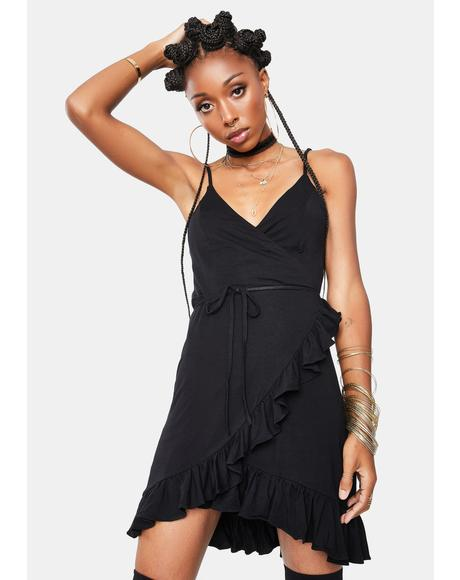 Simply Glam Ruffle Dress