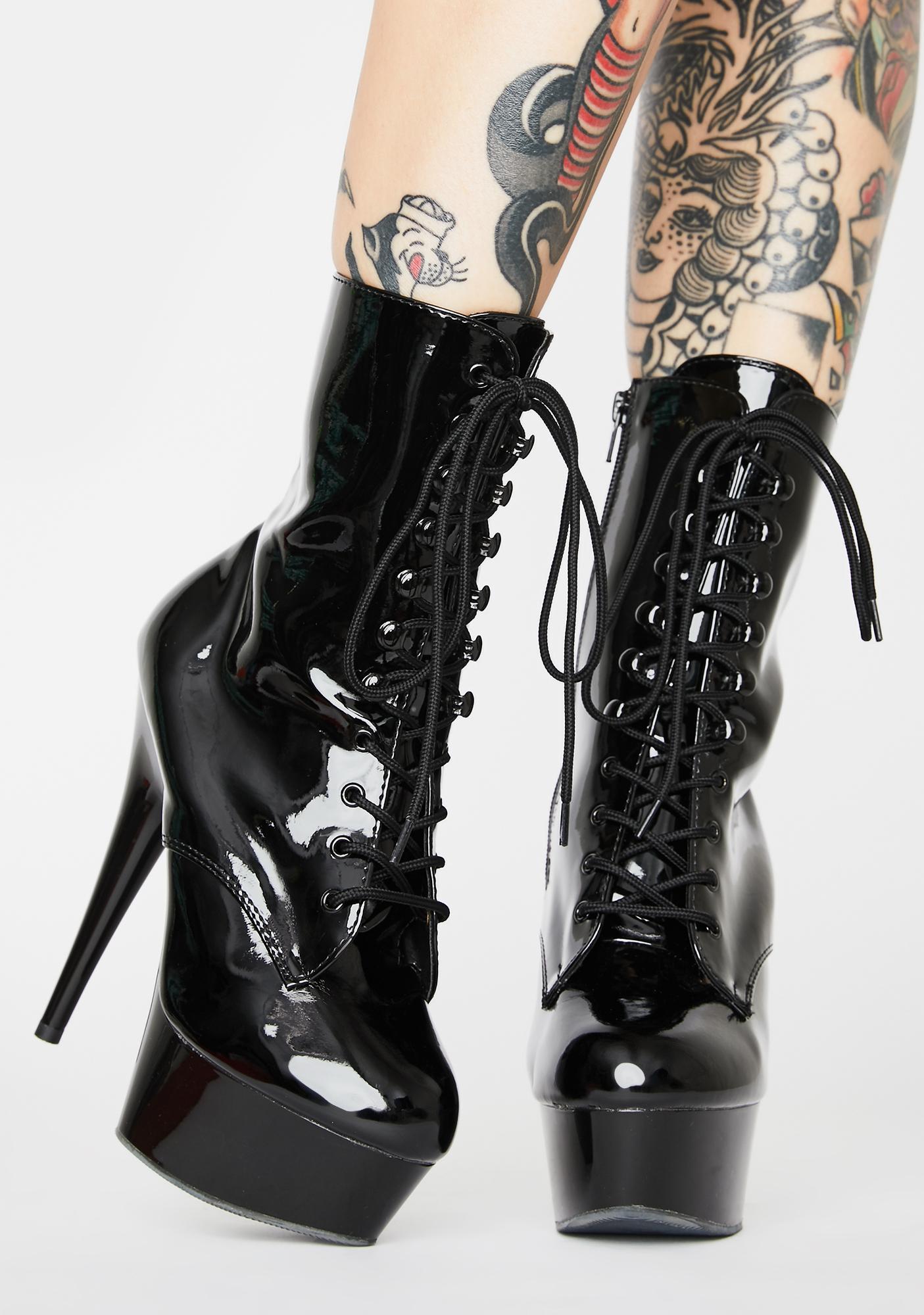 Pleaser Sinful Addiction Stiletto Boots