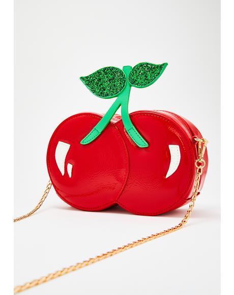 Mon Cheri Cherry Handbag