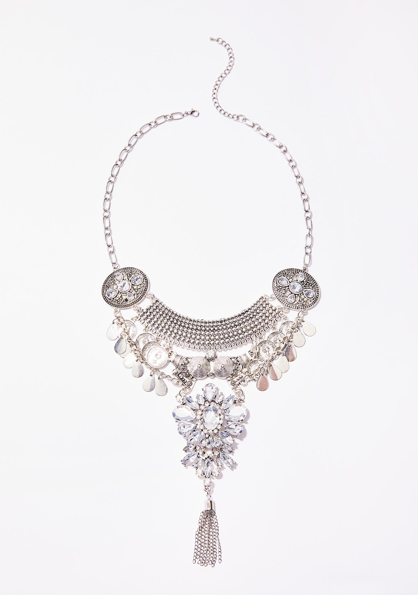 Lil' Delicate Thang Statement Necklace