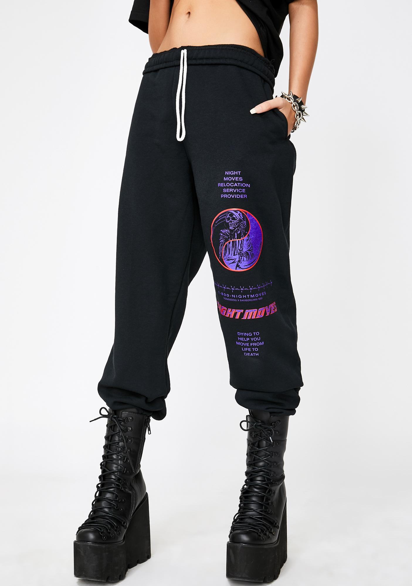 Samborghini x Boss Dog Night Moves Sweatpants