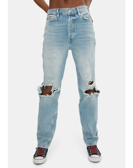 Lasso Straight Leg Jeans