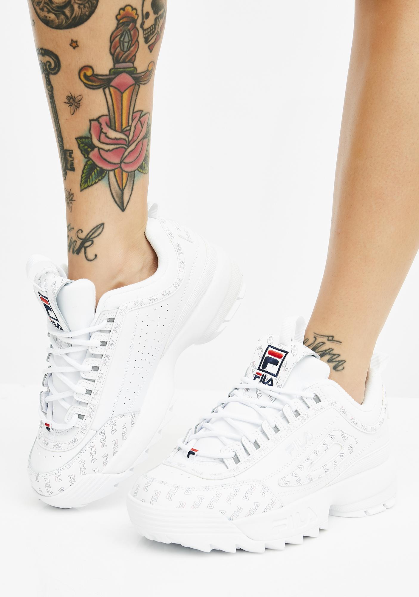 Fila Icy Disruptor II Multiflag Sneakers