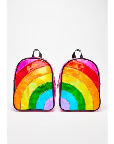 Rainbow Raverz BFF Backpack Set
