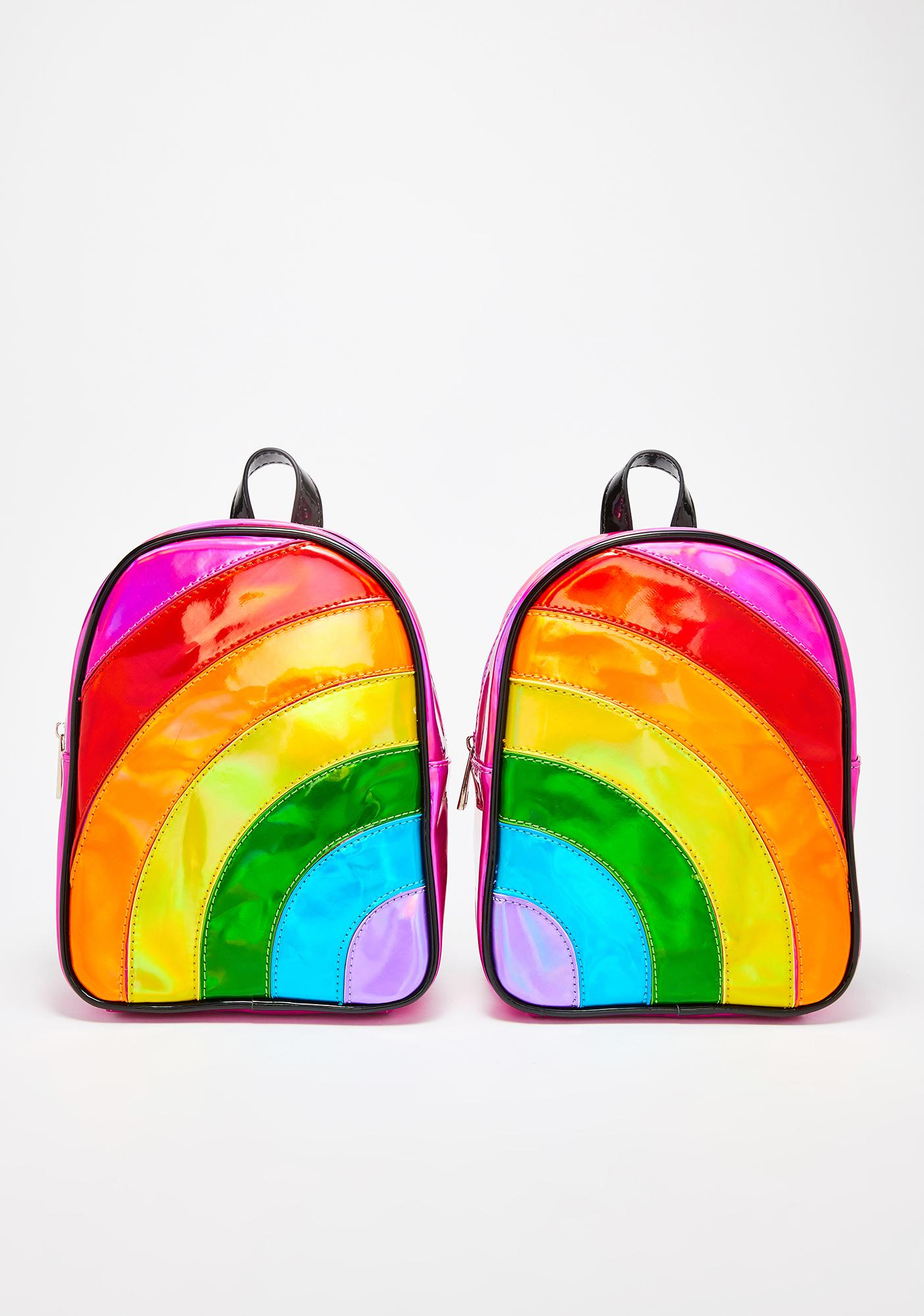Club Exx Rainbow Raverz BFF Backpack Set