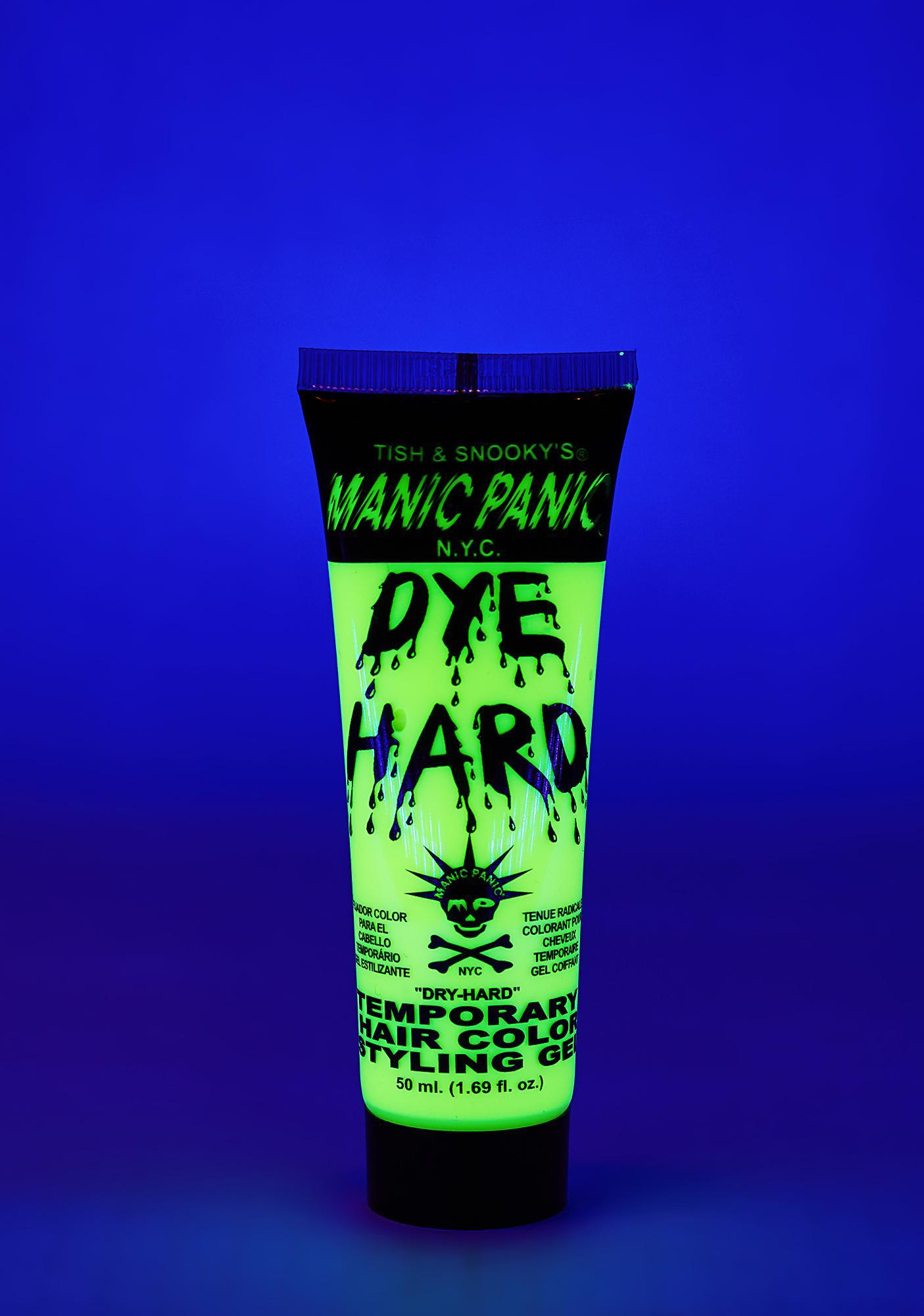 Manic Panic Electric Banana Dye Hard Styling Gel