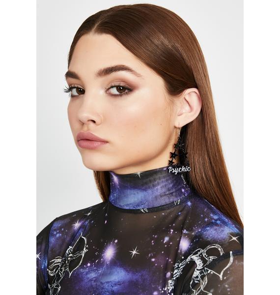 Mind Reader Drop Earrings