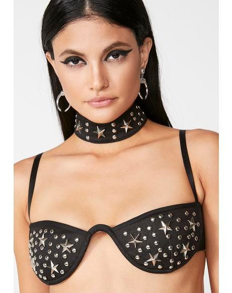 Studded Elliot Bra