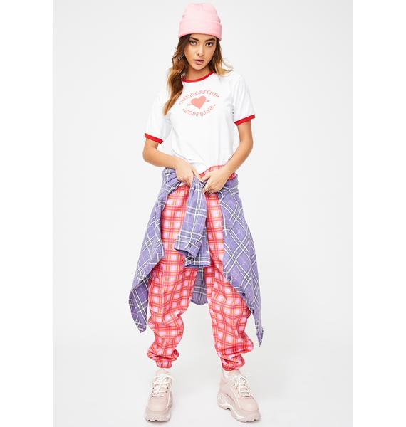 JUNGLECLUB CLOTHING Arrow Heart Graphic Tee