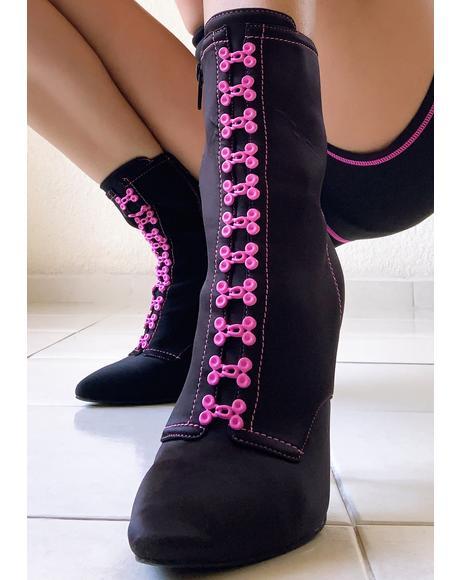 On The Floor Stiletto Boots